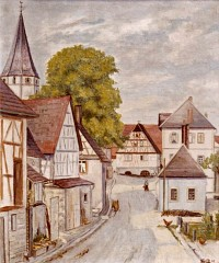 Nußbaum, Steiner Straße 1947