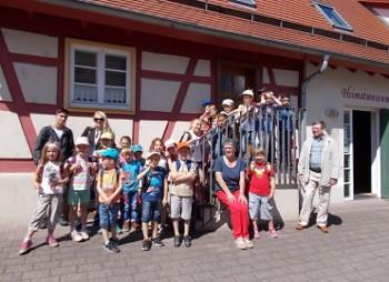 1 Klasse der Friedrich Weinbrenner Schule